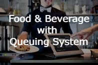 Food & Beverage with Queuing System